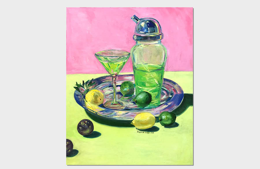 Green Liquor 24x30 Oil